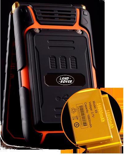 Защищенный телефон Land Rover x9 Flip купить